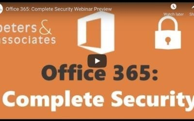 Office 365: Complete Security (Overview 1:54)
