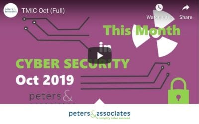 This Month in Cyber Security: October 2019 (2:08)