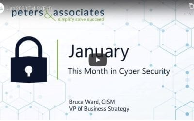 This Month in Cyber Security: Jan 2020 (1:43)