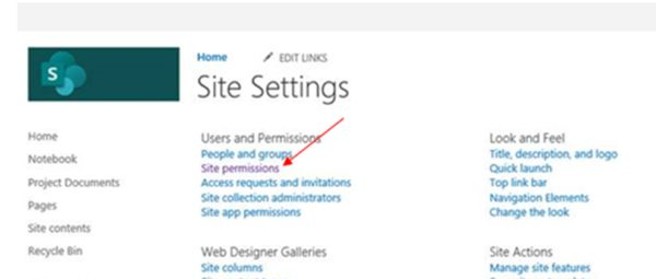 SharePoint Site Settings img