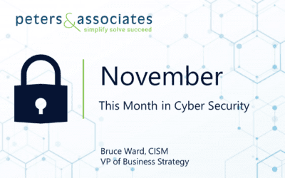 This Month in Cyber Security: November 2020 (2:00)