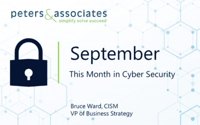This Month in Cyber Security: September 2020 (2:25)
